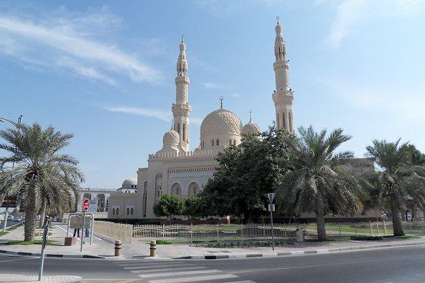 Jumeirah Moschee, aussen